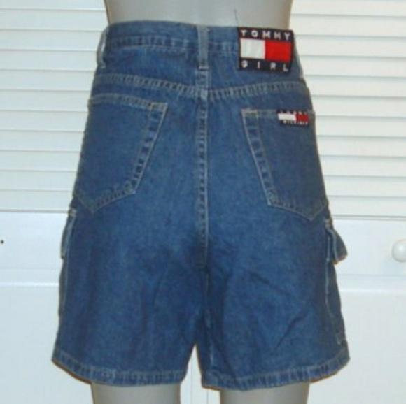 c1dedec40 Tommy Hilfiger Shorts | Vintage High Waist Cargo | Poshmark
